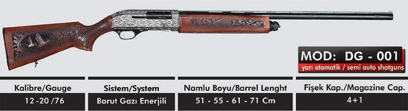 Yarı Otomatik Tüfekler Delta Silah Sanayii Beyşehir Konya 90